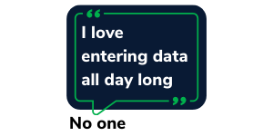 Data Entry quote meme