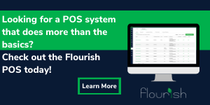 Flourish POS point of sale for cannabis and hemp