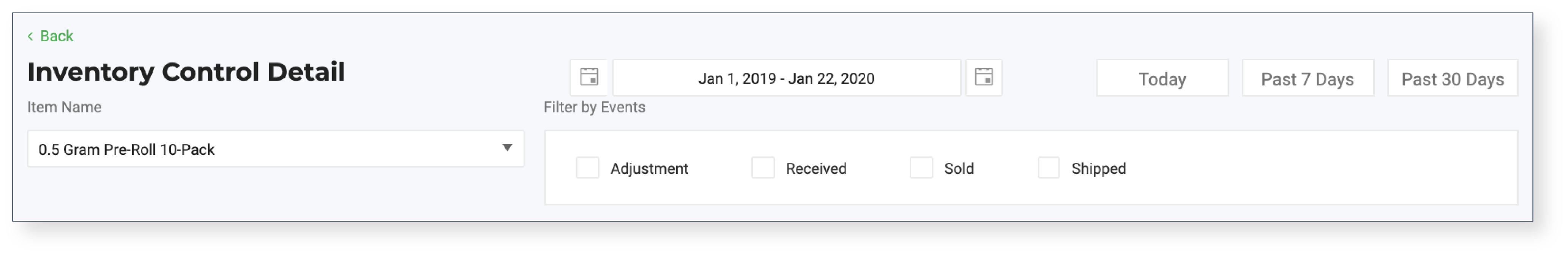 Flourish Software_Inventory Control