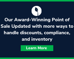 Our Award-Winning Point of Sale Updated with more ways to handle discounts, compliance, and inventory