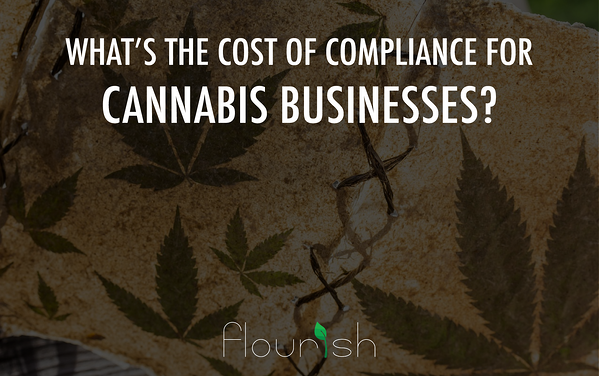 cost of compliance for cannabis businesses