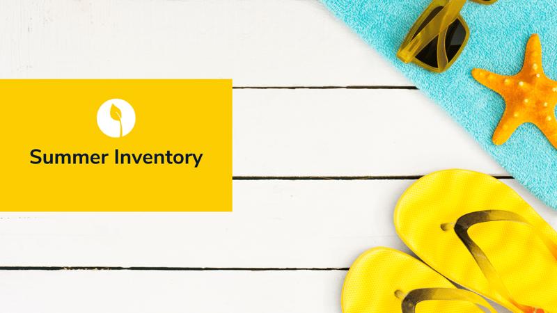 summer inventory