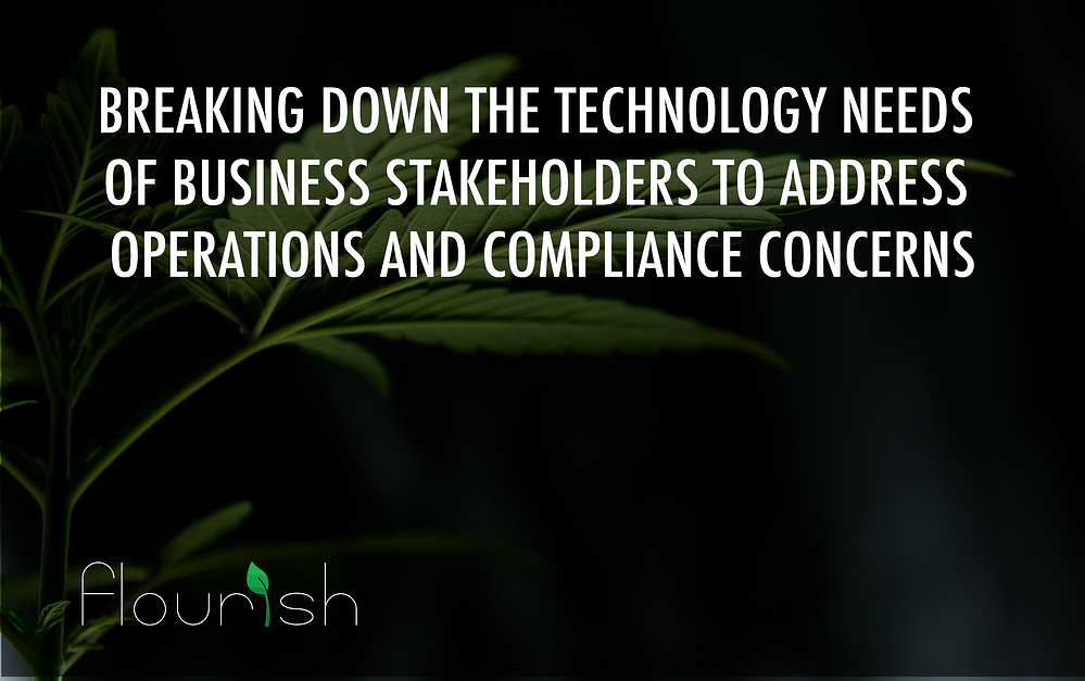 technology needs of cannabis businesses